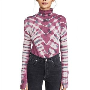 Free People • Psychedelic Turtleneck Pullover